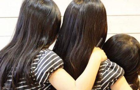 長い髪の少女たち