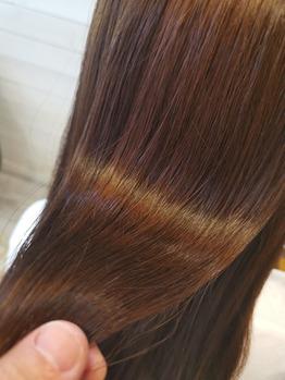 綺麗になった髪