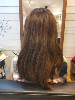 くせのある髪