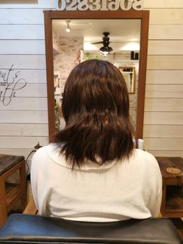 くせの強い髪