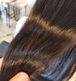 つやのある髪