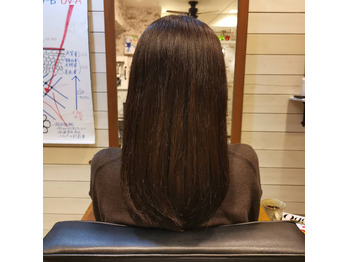 美しくしなやかな髪